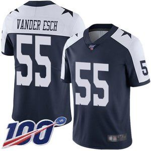 Cowboys Leighton Vander Esch 100th Season Jersey